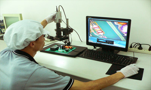 Microscope with LCD Monitor